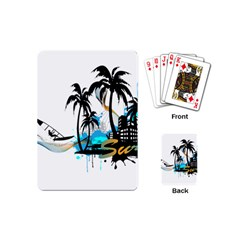 Surfing Playing Cards (Mini)