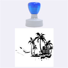 Surfing Rubber Round Stamps (Large)