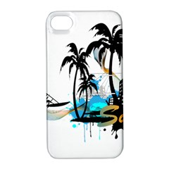 Surfing Apple iPhone 4/4S Hardshell Case with Stand