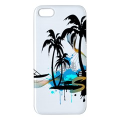 Surfing iPhone 5S Premium Hardshell Case