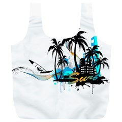 Surfing Full Print Recycle Bags (L)