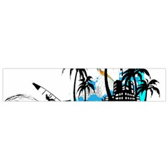 Surfing Flano Scarf (Small)