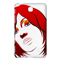 Women face with clef Samsung Galaxy Tab 4 (8 ) Hardshell Case