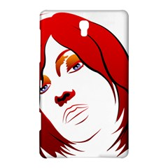 Women face with clef Samsung Galaxy Tab S (8.4 ) Hardshell Case