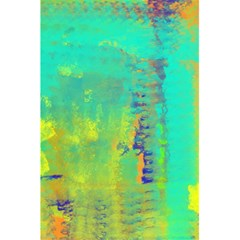 Abstract in Turquoise, Gold, and Copper 5.5  x 8.5  Notebooks