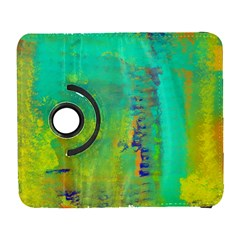 Abstract In Turquoise, Gold, And Copper Samsung Galaxy S  Iii Flip 360 Case