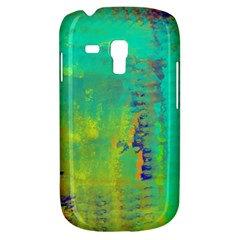 Abstract in Turquoise, Gold, and Copper Samsung Galaxy S3 MINI I8190 Hardshell Case