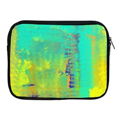 Abstract in Turquoise, Gold, and Copper Apple iPad 2/3/4 Zipper Cases