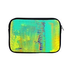 Abstract in Turquoise, Gold, and Copper Apple iPad Mini Zipper Cases