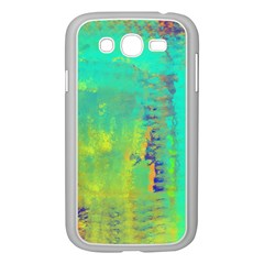 Abstract in Turquoise, Gold, and Copper Samsung Galaxy Grand DUOS I9082 Case (White)