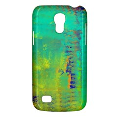Abstract In Turquoise, Gold, And Copper Galaxy S4 Mini