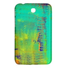 Abstract in Turquoise, Gold, and Copper Samsung Galaxy Tab 3 (7 ) P3200 Hardshell Case