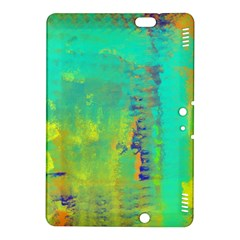 Abstract in Turquoise, Gold, and Copper Kindle Fire HDX 8.9  Hardshell Case