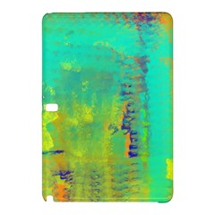 Abstract In Turquoise, Gold, And Copper Samsung Galaxy Tab Pro 10 1 Hardshell Case