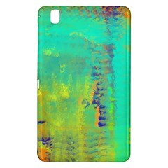 Abstract In Turquoise, Gold, And Copper Samsung Galaxy Tab Pro 8 4 Hardshell Case