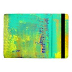 Abstract In Turquoise, Gold, And Copper Samsung Galaxy Tab Pro 10 1  Flip Case