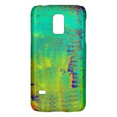 Abstract In Turquoise, Gold, And Copper Galaxy S5 Mini
