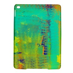 Abstract in Turquoise, Gold, and Copper iPad Air 2 Hardshell Cases