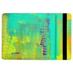 Abstract in Turquoise, Gold, and Copper iPad Air 2 Flip