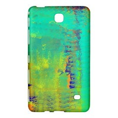 Abstract in Turquoise, Gold, and Copper Samsung Galaxy Tab 4 (7 ) Hardshell Case