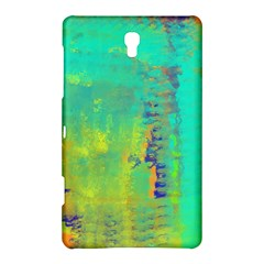 Abstract in Turquoise, Gold, and Copper Samsung Galaxy Tab S (8.4 ) Hardshell Case