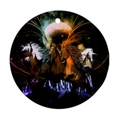 Wonderful Horses In The Universe Ornament (Round)