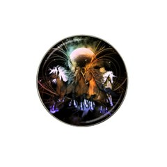 Wonderful Horses In The Universe Hat Clip Ball Marker
