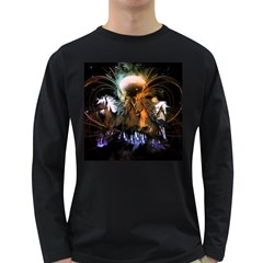 Wonderful Horses In The Universe Long Sleeve Dark T Shirts