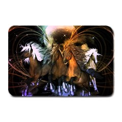 Wonderful Horses In The Universe Plate Mats