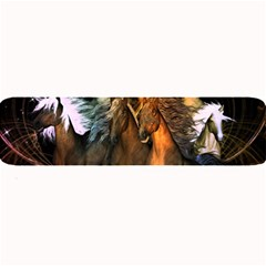 Wonderful Horses In The Universe Large Bar Mats
