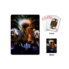 Wonderful Horses In The Universe Playing Cards (Mini)