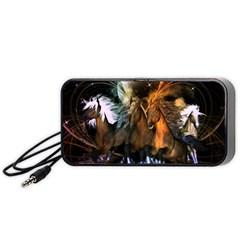 Wonderful Horses In The Universe Portable Speaker (Black)