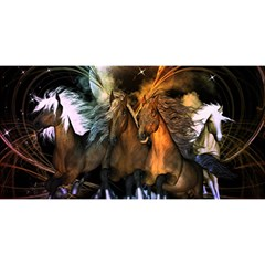 Wonderful Horses In The Universe YOU ARE INVITED 3D Greeting Card (8x4)
