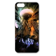 Wonderful Horses In The Universe Apple Seamless iPhone 5 Case (Clear)