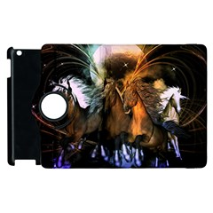 Wonderful Horses In The Universe Apple Ipad 3/4 Flip 360 Case