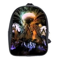 Wonderful Horses In The Universe School Bags (XL)