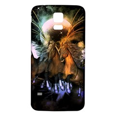 Wonderful Horses In The Universe Samsung Galaxy S5 Back Case (white)
