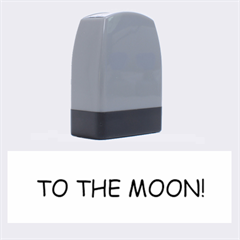 To The Moon! Name Stamp