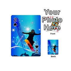 Snowboarding Playing Cards 54 (Mini)
