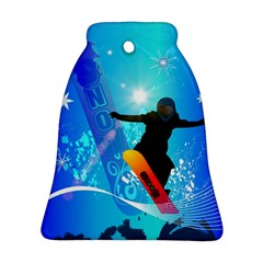 Snowboarding Ornament (Bell)