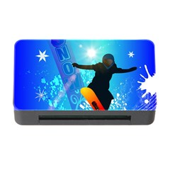Snowboarding Memory Card Reader With Cf