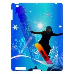Snowboarding Apple iPad 3/4 Hardshell Case