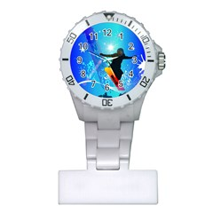 Snowboarding Nurses Watches