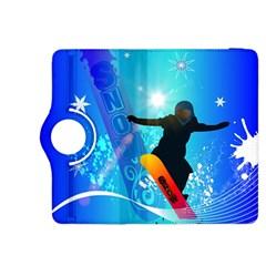 Snowboarding Kindle Fire HDX 8.9  Flip 360 Case