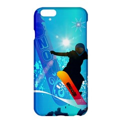 Snowboarding Apple iPhone 6 Plus/6S Plus Hardshell Case