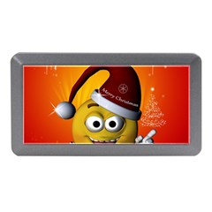 Cute Funny Christmas Smiley With Christmas Tree Memory Card Reader (mini)