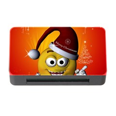 Cute Funny Christmas Smiley With Christmas Tree Memory Card Reader with CF