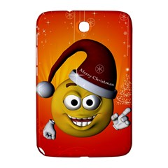 Cute Funny Christmas Smiley With Christmas Tree Samsung Galaxy Note 8.0 N5100 Hardshell Case