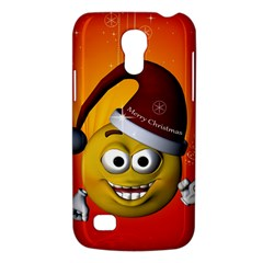 Cute Funny Christmas Smiley With Christmas Tree Galaxy S4 Mini