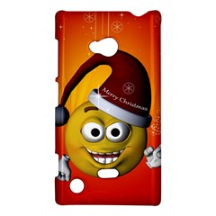 Cute Funny Christmas Smiley With Christmas Tree Nokia Lumia 720